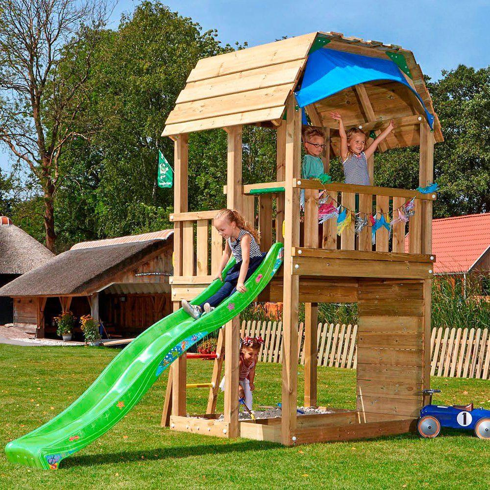 JUNGLE GYM Spielturm »Jungle Barn«, BxTxH 210x380x320 cm ...