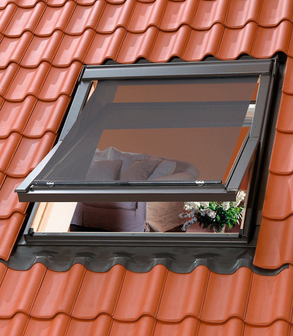 dachfensterrollo velux blickdicht hitzeschutzmarkise fur dachfenstergrosse 204 206 online kaufen otto