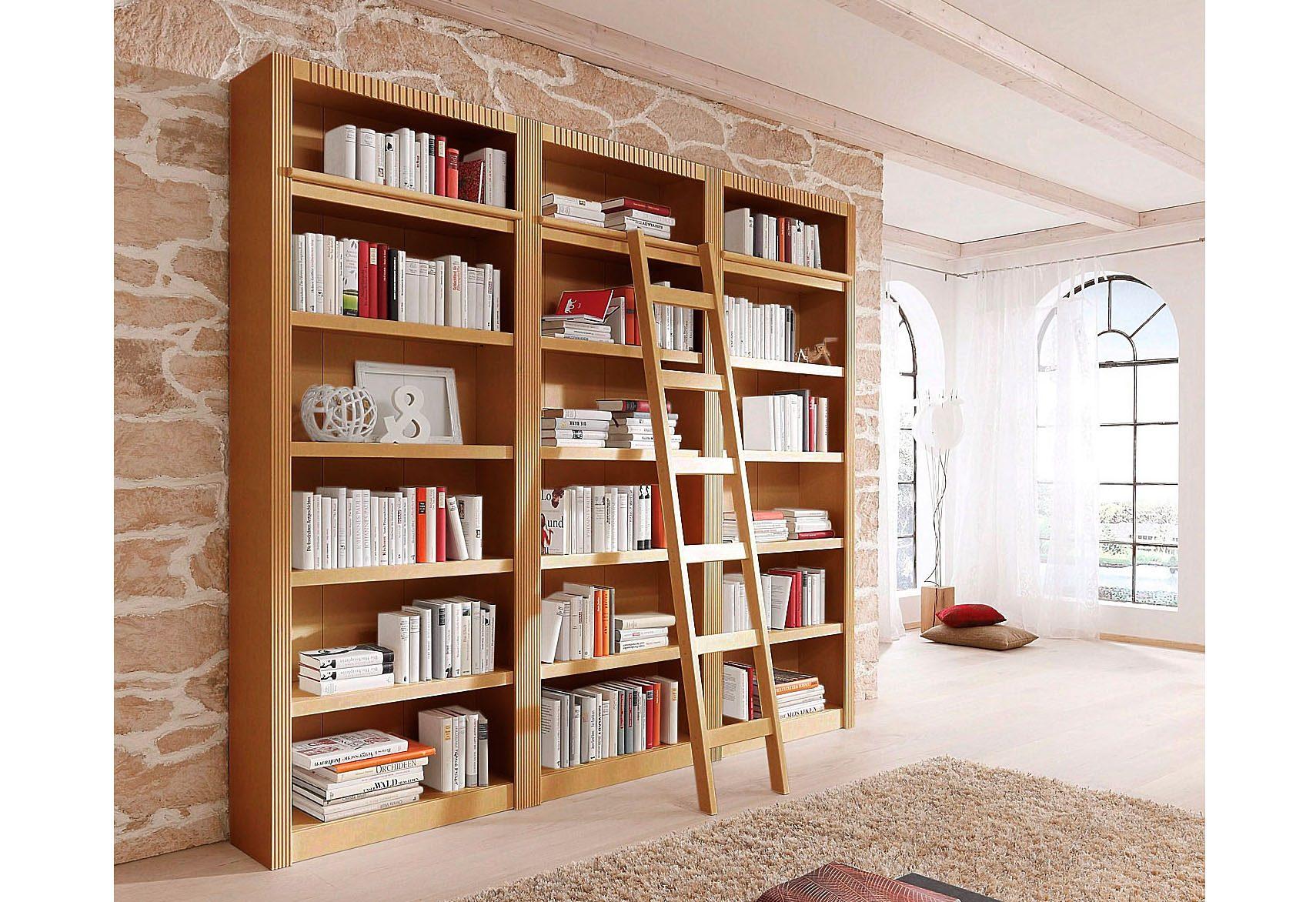 Home affaire, Bücherwand »Bergen«, 3 tlg., Breite 244,5 ...