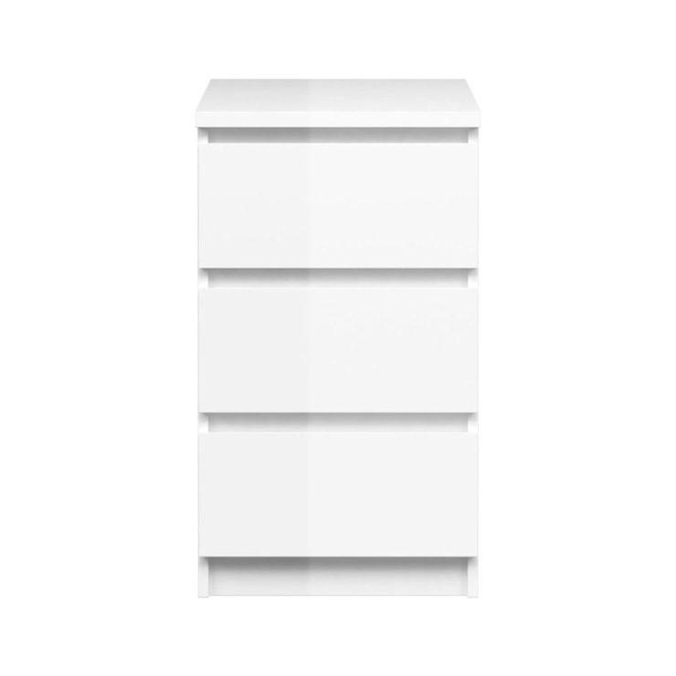 Kommode Weiß Hochglanz Schubladen 2021