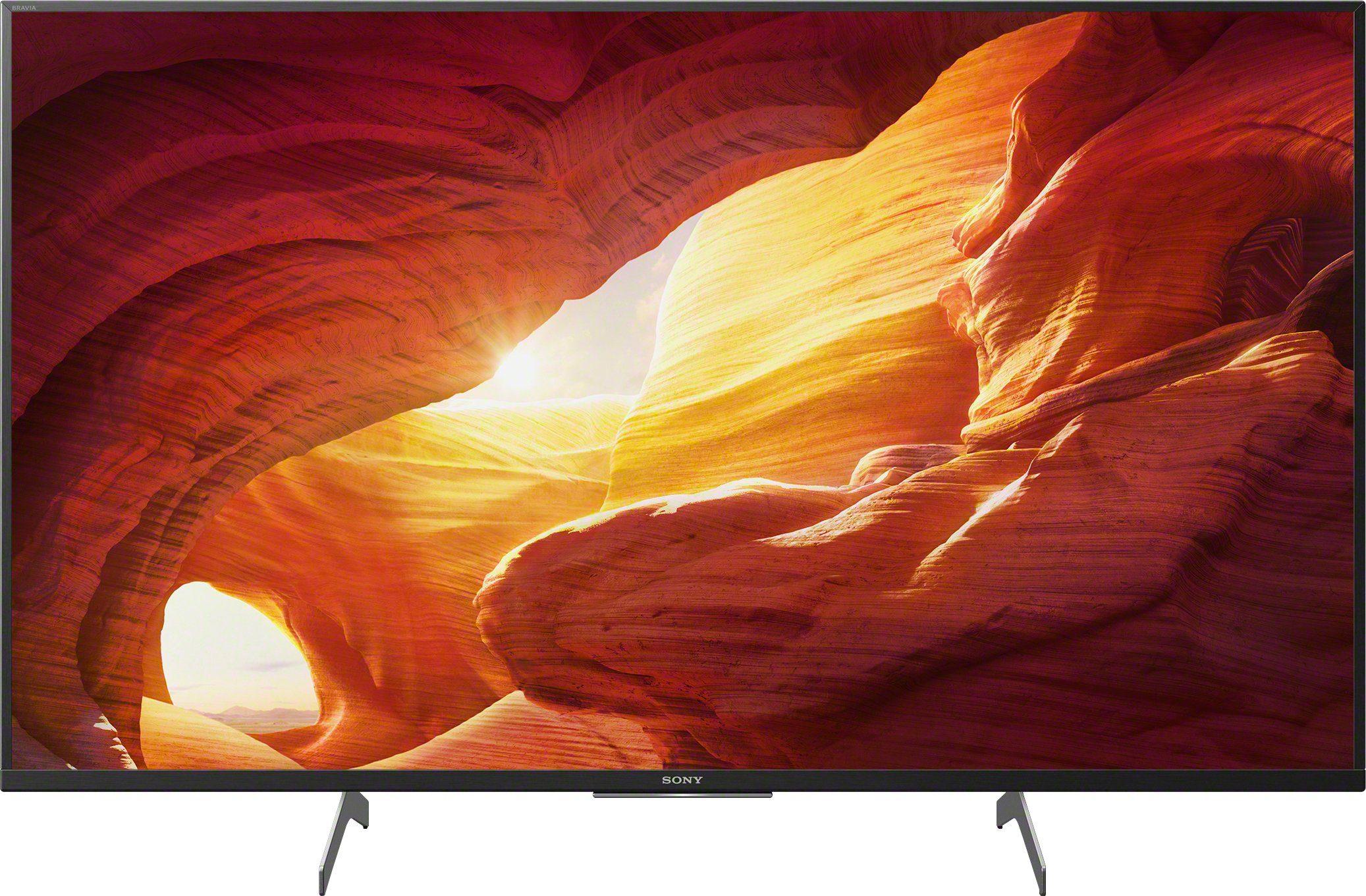 sony kd 43xh85xx lcd led fernseher 108 cm 43 zoll 4k ultra hd android tv smart tv
