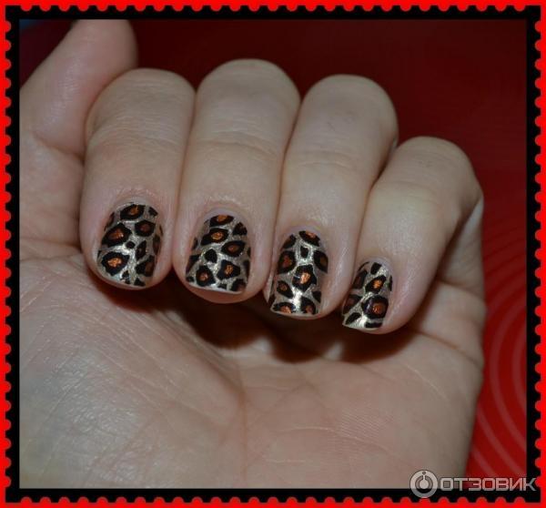 Лак для ногтей самоклеющийся Sephora Nail Patch Art фото