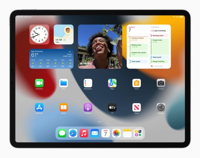 iPadOS 15: Widgets Galore