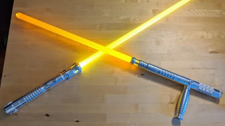 Hands On With Ultrasabers' Custom Stunt Lightsabers | PCMag