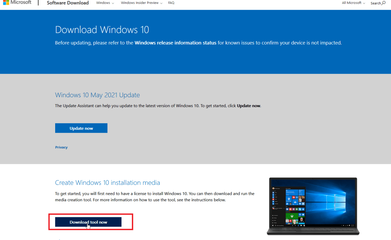 descargar windows 10