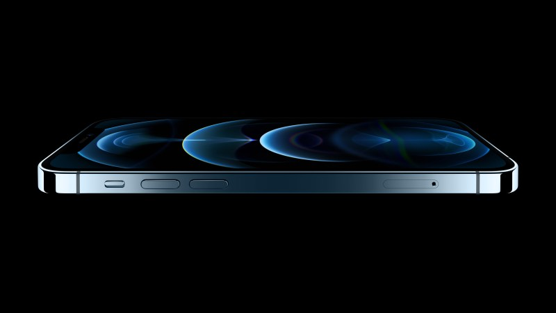 Side view of iPhone 12 Pro