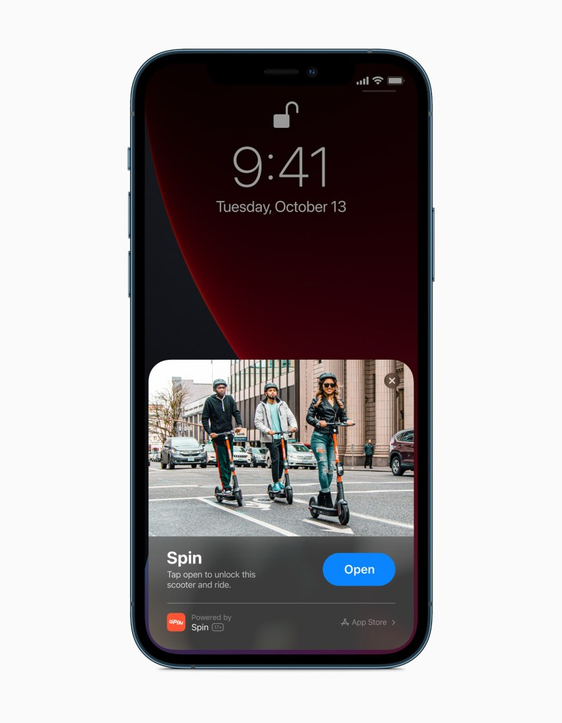 iPhone 12 Pro Max display