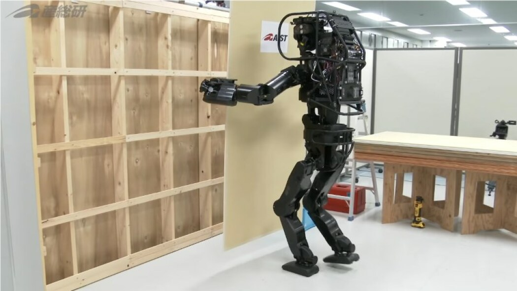 Japan Created A Robot That Can Install Drywall Pcmag