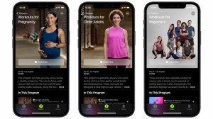 Apple Fitness + adds workouts for pregnancy, older adults