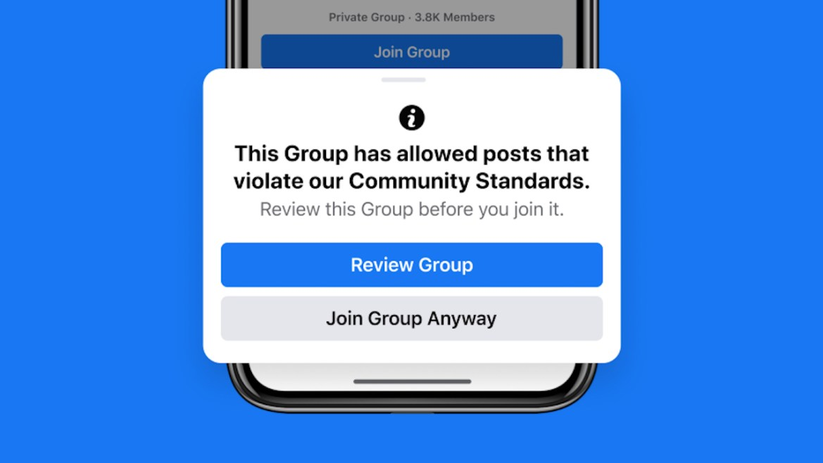 Changes to keep Facebook Groups safe