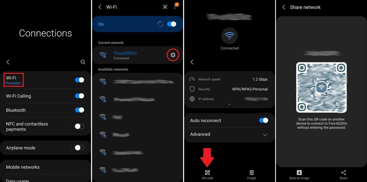 Wi-Fi поделиться