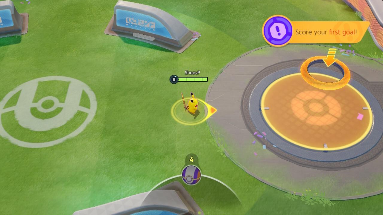 Pokemon Unite goal