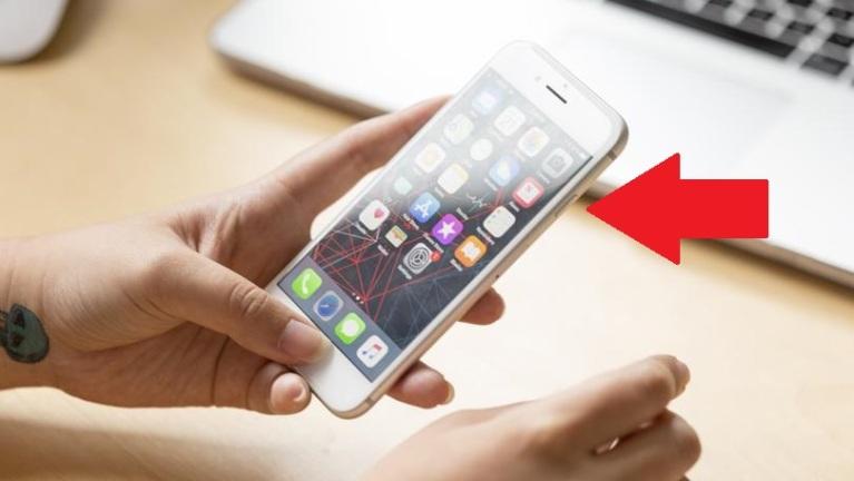Apagar un iPhone 8 o una versión anterior