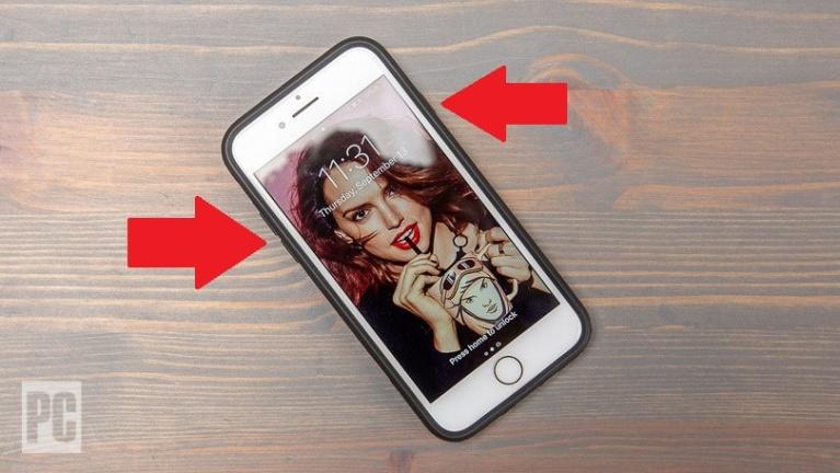 Forzar el reinicio de un iPhone 7 o 7 Plus