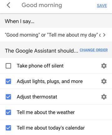 Ajuste su 'Buenos días'