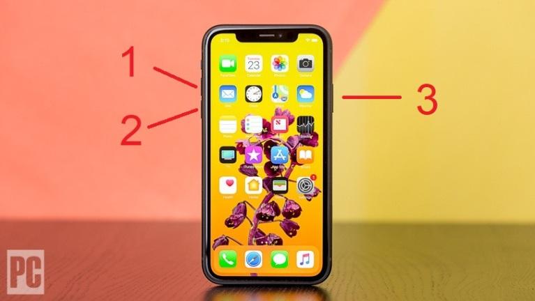 Forzar el reinicio de un iPhone 8 o posterior