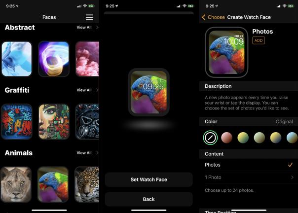 Obtén Watch Faces de la App Store