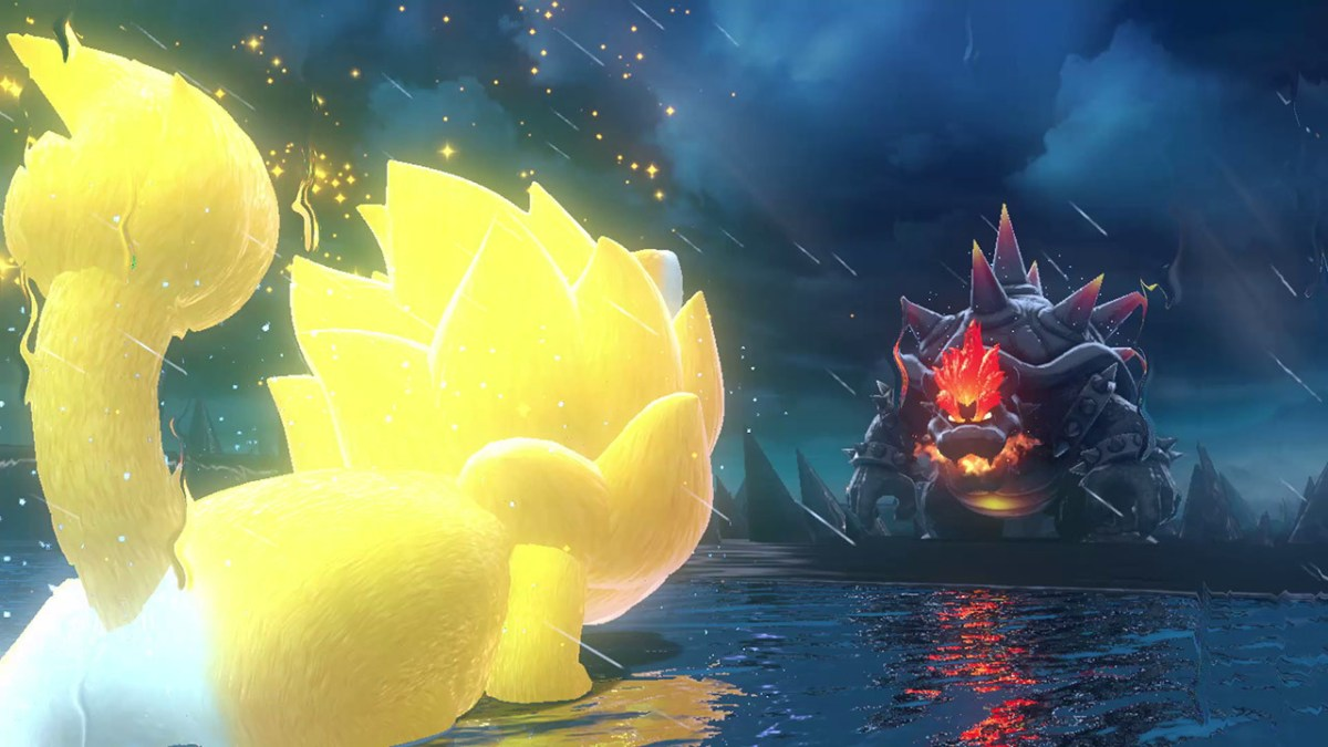 Bowser's Fury boss fight