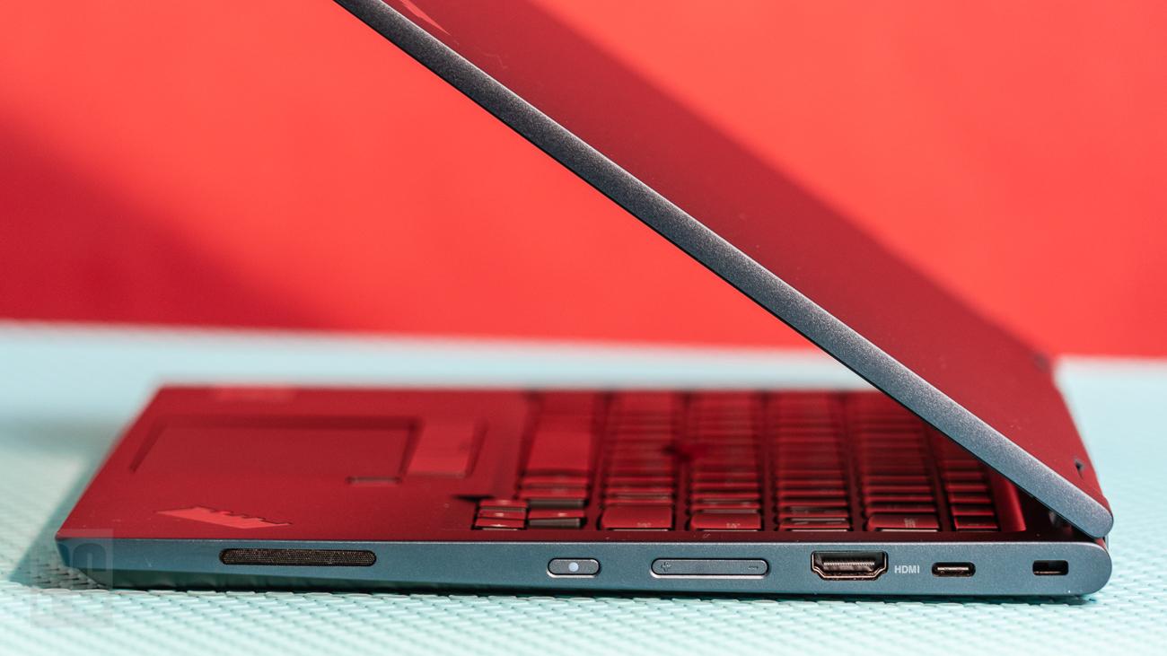 Lenovo ThinkPad C13 Yoga Chromebook right ports