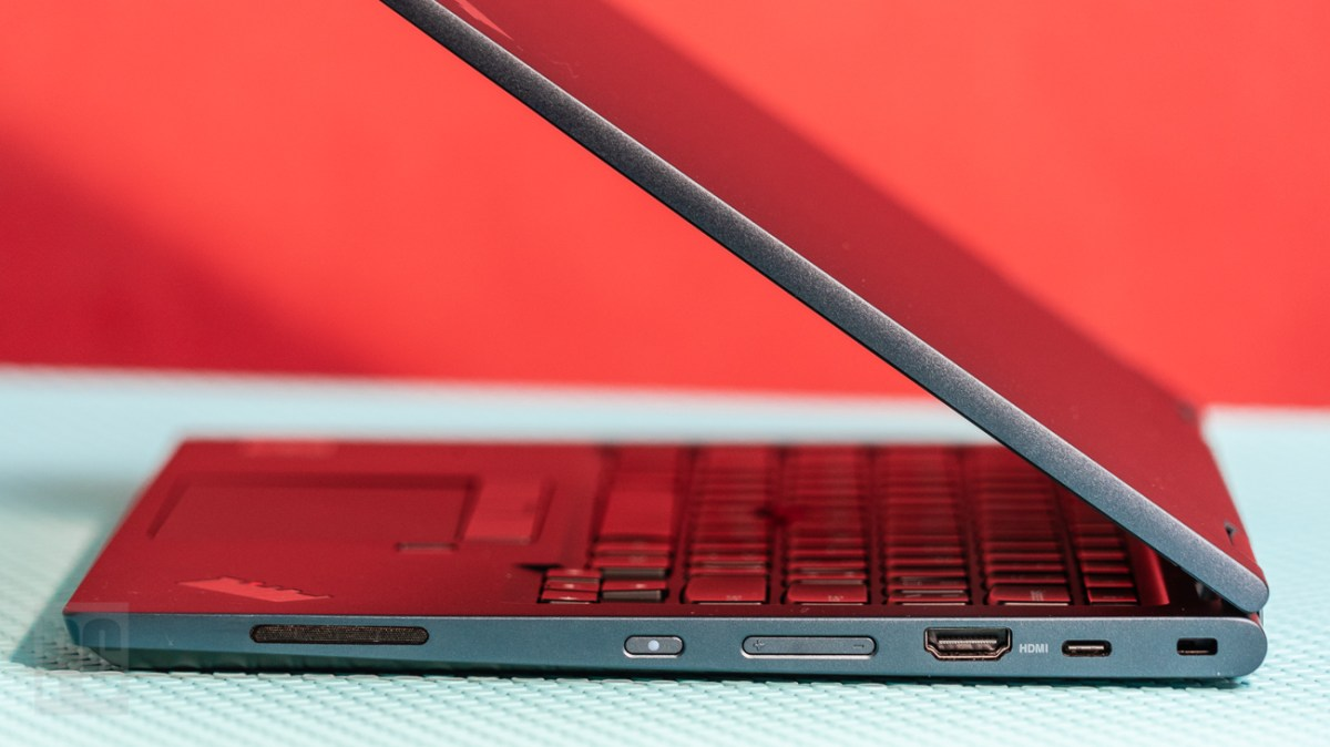 Lenovo ThinkPad C13 Yoga Chromebook right ports