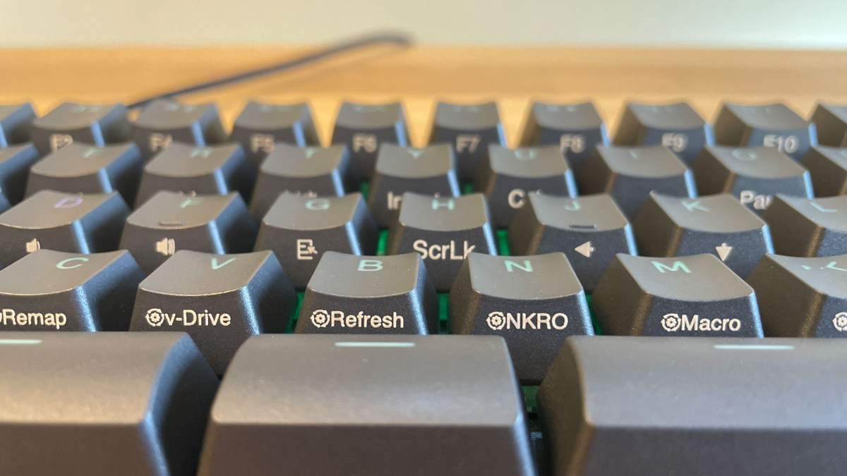 Kinesis TKO Gaming Keyboard sidecaps