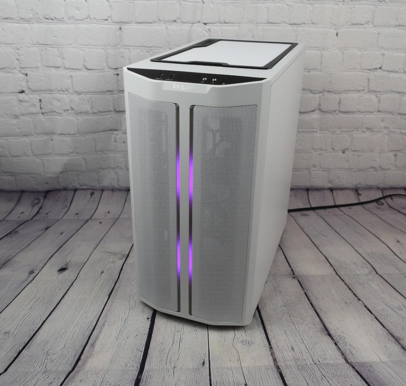 Be Quiet Pure Base 500DX (диагональный фиолетовый светодиод)