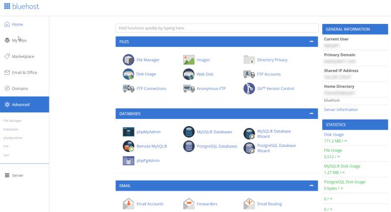 File, database e posta elettronica