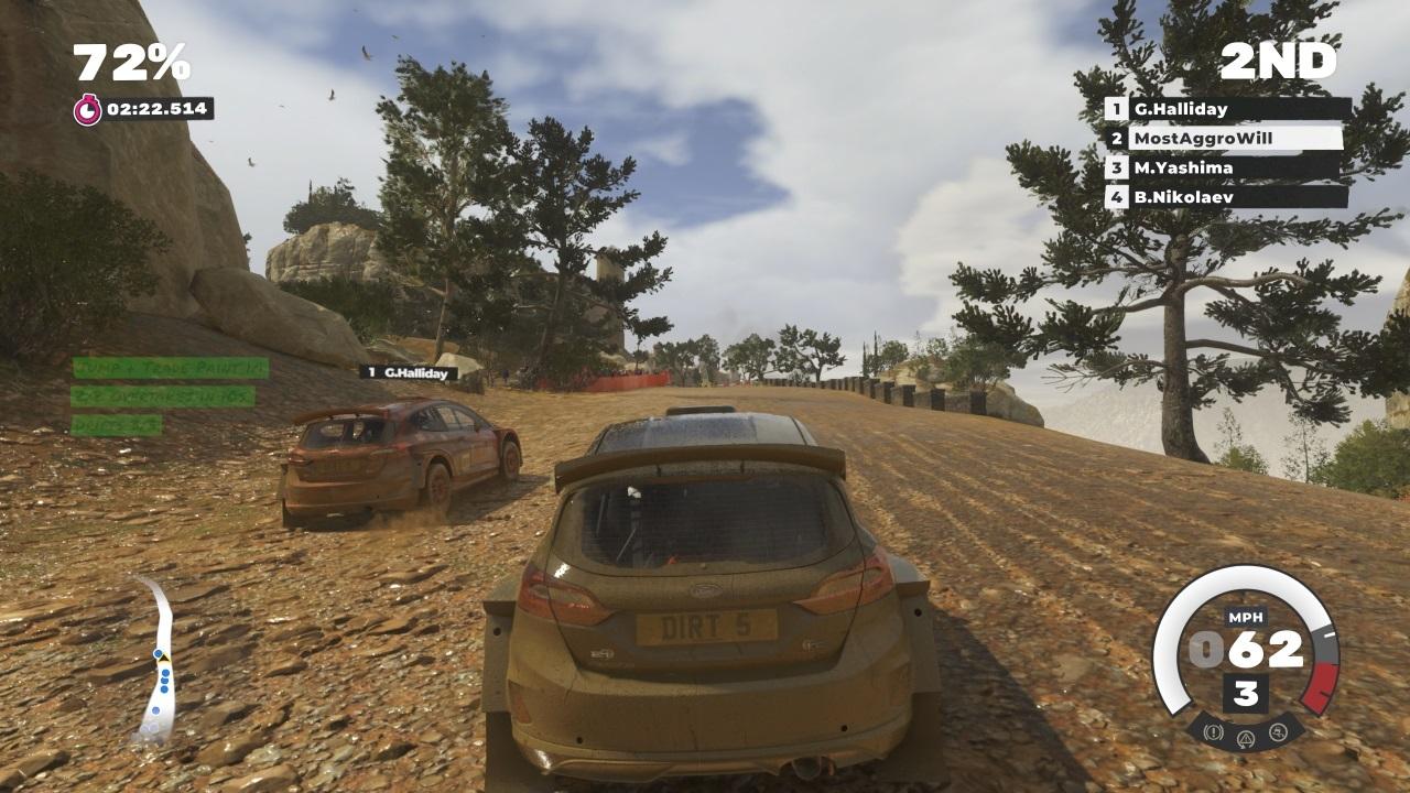 Dirt 5 геймплей