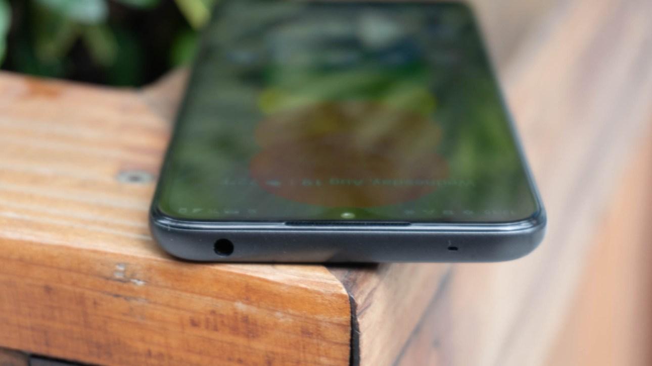 Вид сверху Nokia 5.3