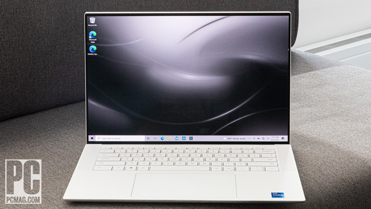 Dell XPS 15 OLED (9510) front view
