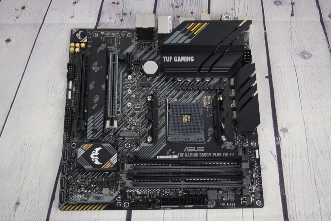 Asus TUF Gaming B550M-Plus (Wi-Fi) накладные расходы 2
