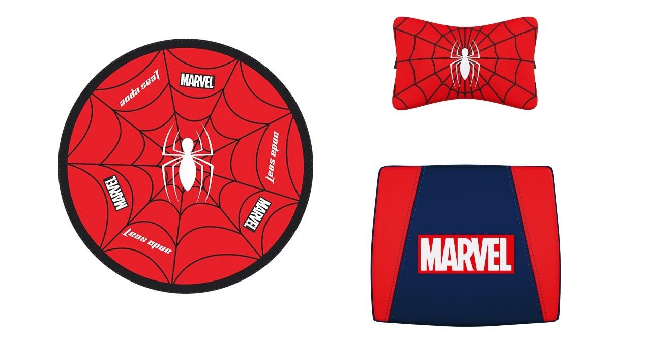 Игровое кресло AndaSeat Marvel Collaboration Series Человек-паук