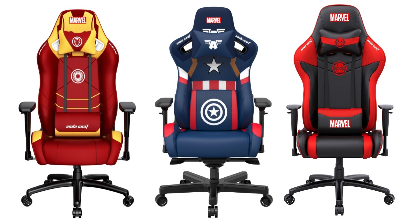 Игровое кресло AndaSeat Marvel Collaboration Series