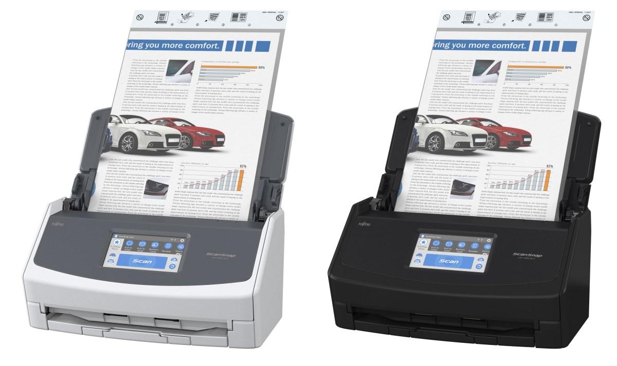 Fujitsu ScanSnap iX1600 color options