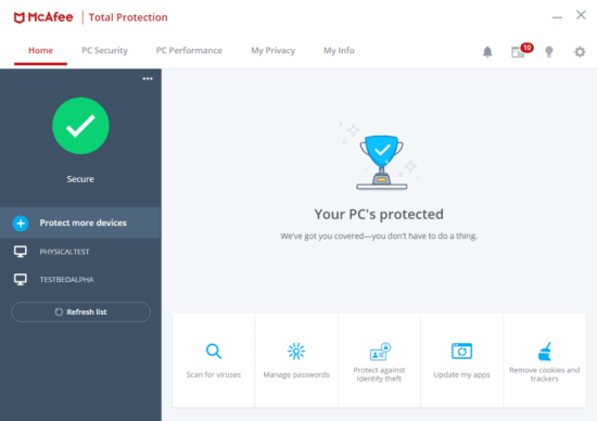 McAfee Total Protection 2021 Crack With Serial Key [Latest] Free