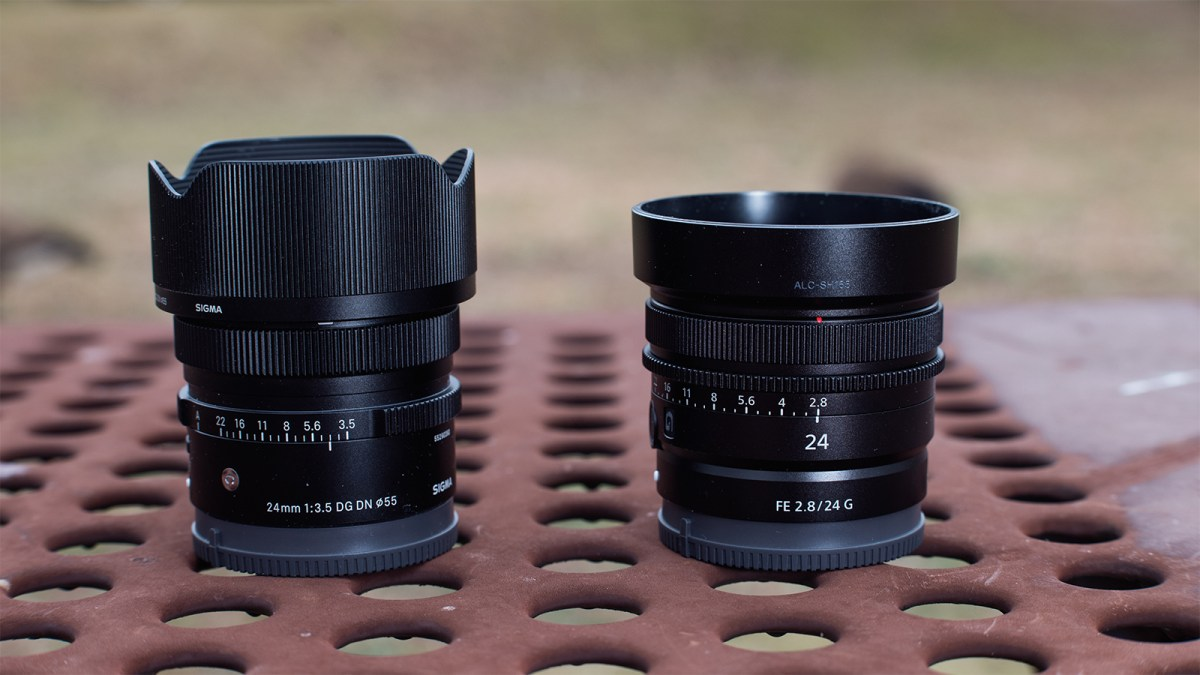 Sigma 24mm F3.5 DG DN Contemporary vs Sony FE 24mm F2.8 G