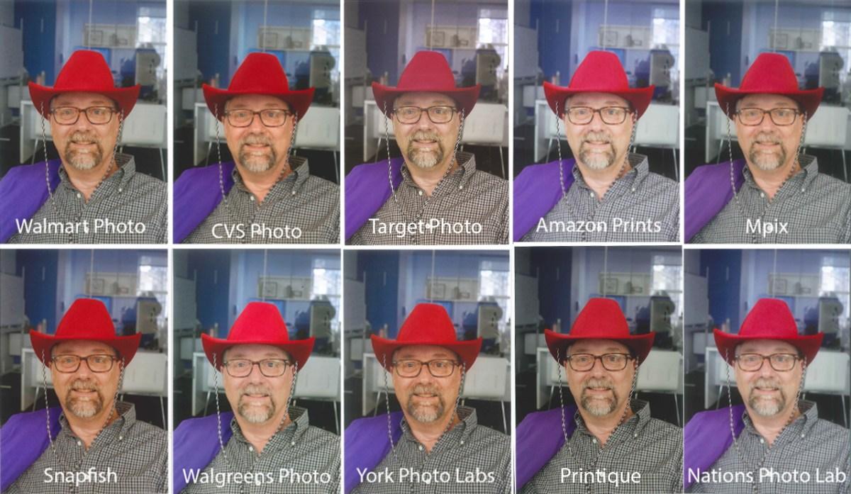 Target Photos portrait print quality comparison