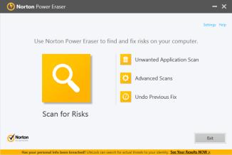 Symantec Norton Power Eraser Review   PCMag