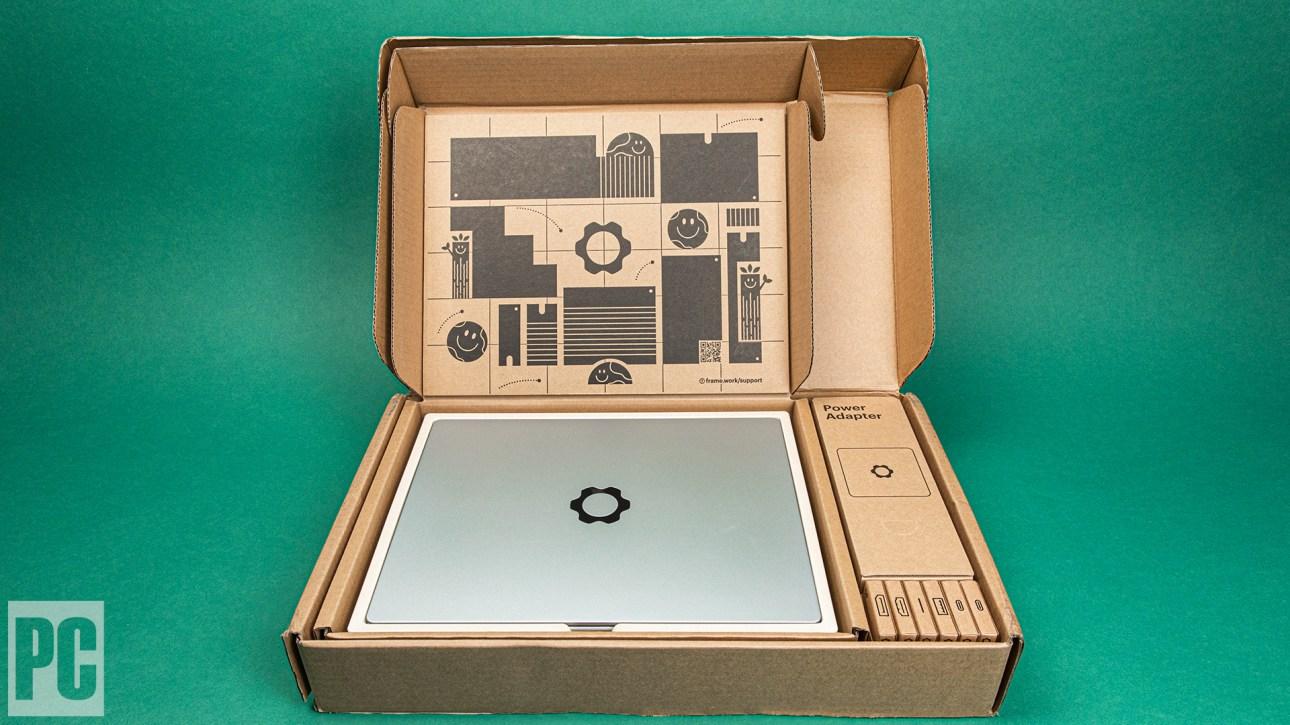 Ноутбук Framework без коробки