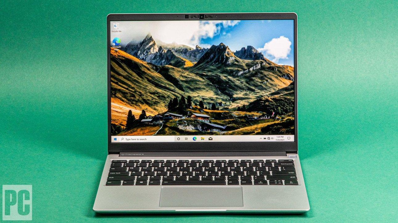 Рамочный дисплей для ноутбука