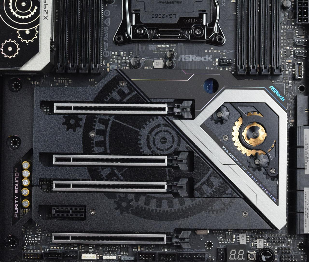 Чипсет Asrock X299 Taichi CLX и M.2 PCIe