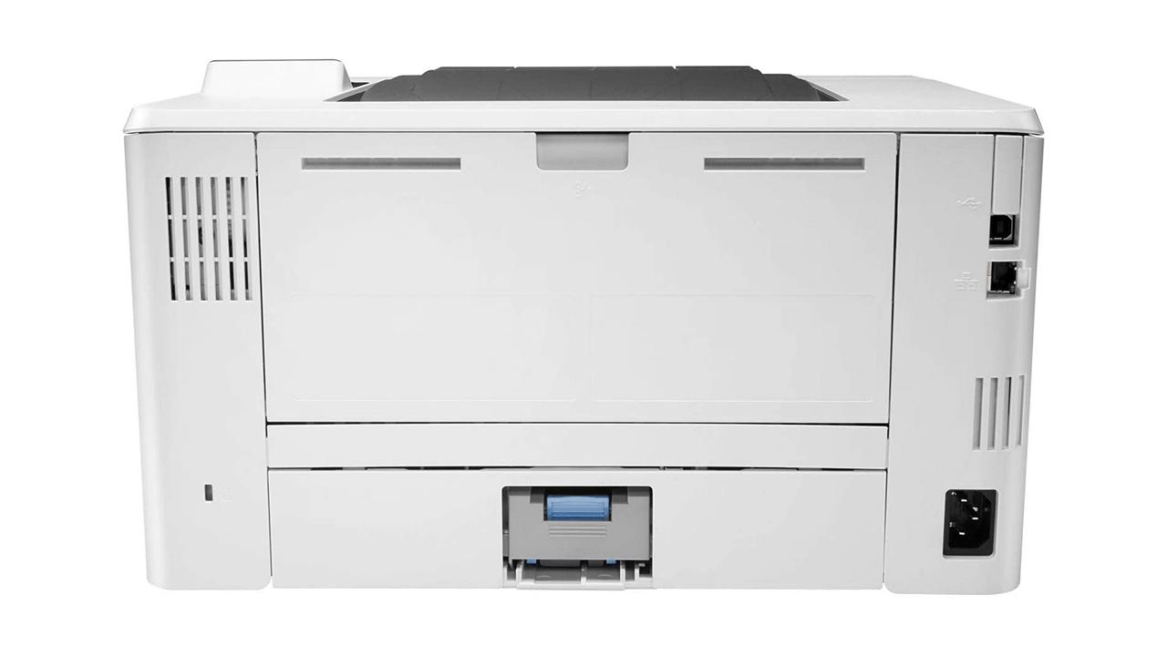 HP LaserJet Pro M404dw, вид сзади