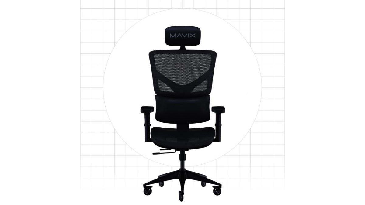 Mavix M5 Gaming Chair back