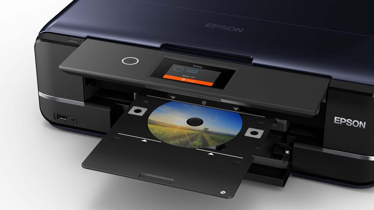 Печать на компакт-дисках Epson Expression Photo XP-8600