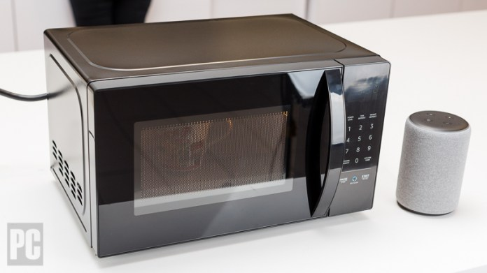Amazonbasics Microwave Review Pcmag