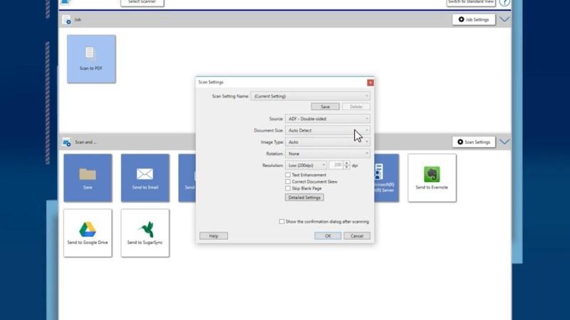 Epson DS-970 Document Capture Pro