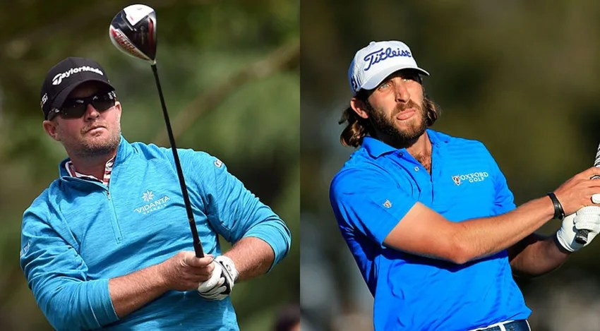 Andrew Loupe and Steve Wheatcroft both shot a 7-under 65 in Round 1 for a share of the lead. (David Cannon/Getty Images)
