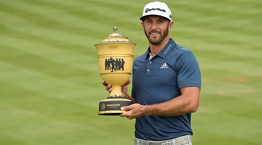 Dustin Johnson followed up his win at the U.S. Open by winning the WGC-Bridgestone Invitational. (Sam Greenwood/Getty Images)