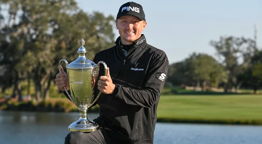Canadian rookie Mackenzie Hughes won The RSM Classic in only his ninth start on the PGA TOUR. (Justin Heiman/Getty Images)