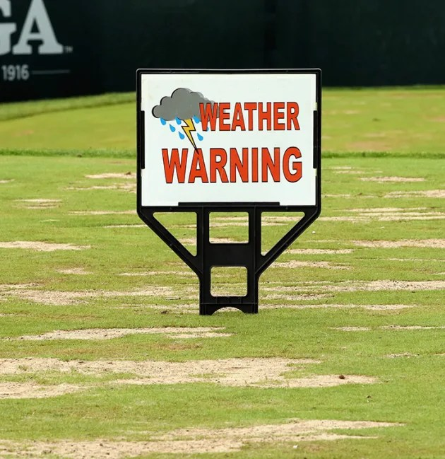 Play suspended for the day